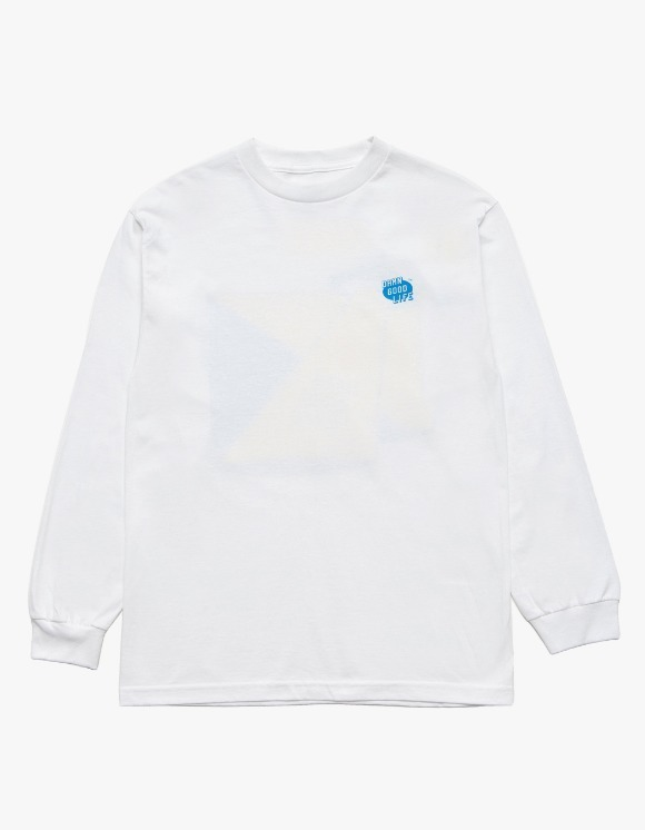 DAMNGOODLIFE Vanish L/S Tee - White | HEIGHTS. | 하이츠 온라인 스토어
