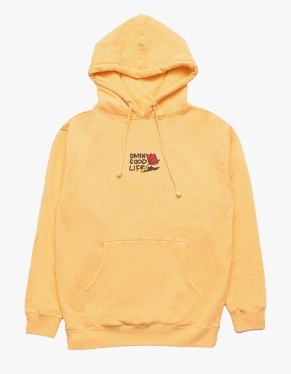 DAMNGOODLIFE Damn Rain Hoodie - Peach | HEIGHTS. | 하이츠 온라인 스토어