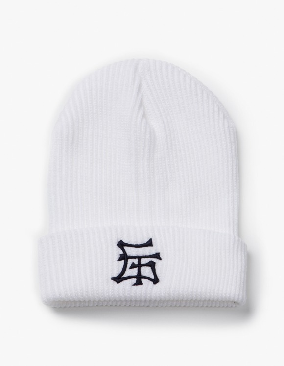 have a good time GT Logo Beanie - White | HEIGHTS. | 하이츠 온라인 스토어