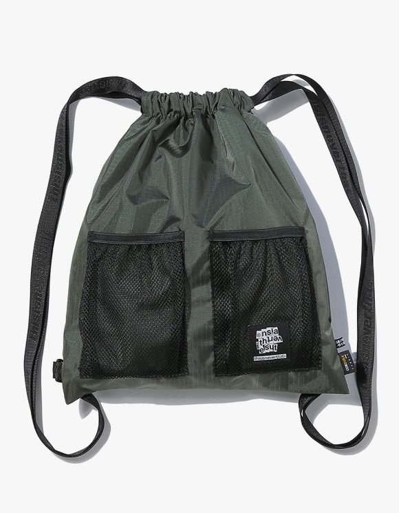 thisisneverthat Ripstop Cordura® 210D Gym Sack - Olive | HEIGHTS. | 하이츠 온라인 스토어