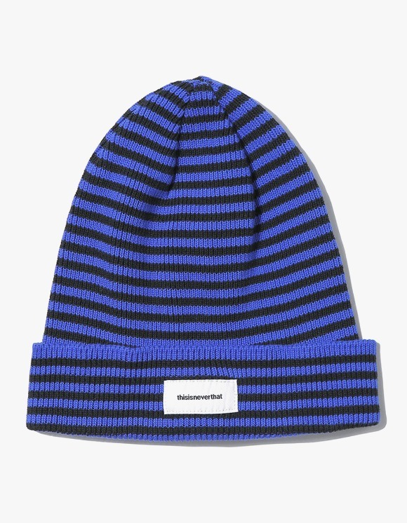 thisisneverthat Striped Beanie - Blue | HEIGHTS. | 하이츠 온라인 스토어