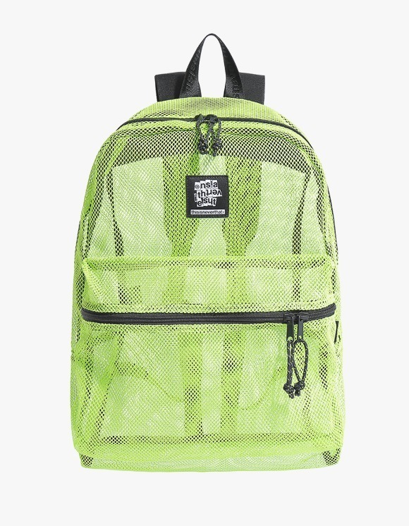 thisisneverthat Mesh Backpack - Lime | HEIGHTS. | 하이츠 온라인 스토어