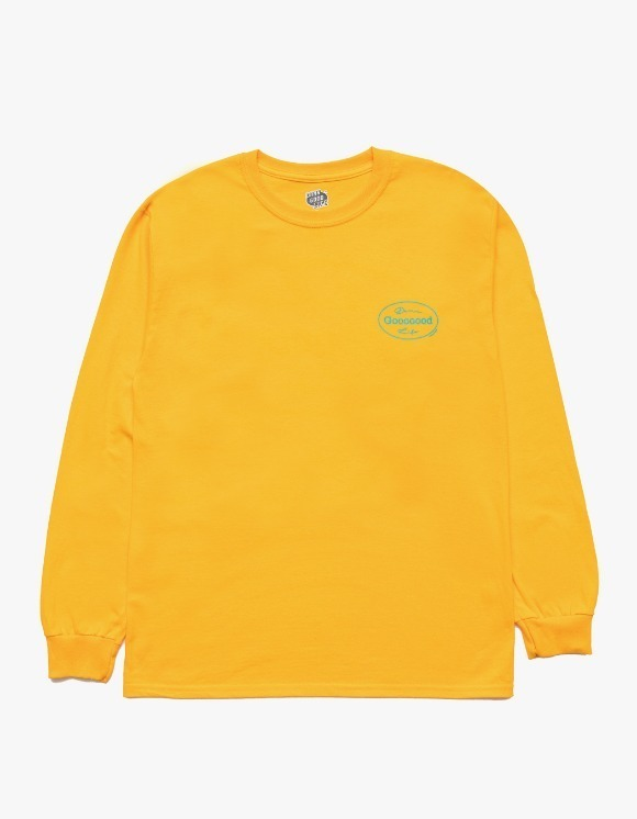 DAMNGOODLIFE Gooooood L/S Tee - Gold | HEIGHTS. | 하이츠 온라인 스토어