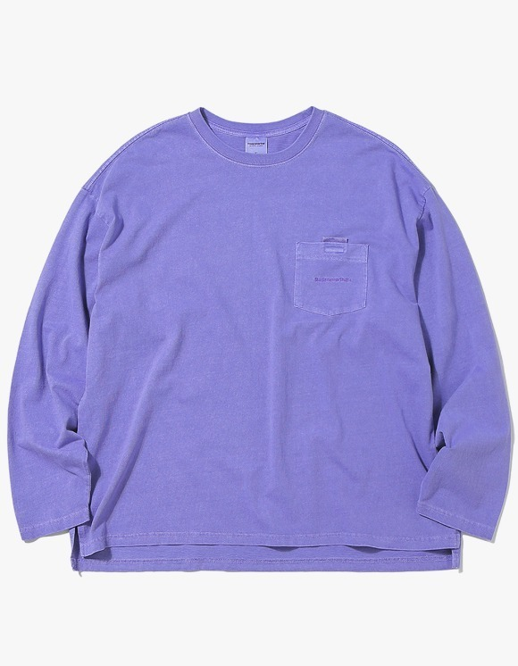 thisisneverthat T-Logo Pocket L/SL Top - Purple | HEIGHTS. Online Store