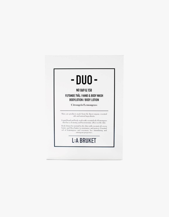L:a Bruket Liquid Soap/Body Lotion - Lemongrass (200ml) | HEIGHTS. Online Store