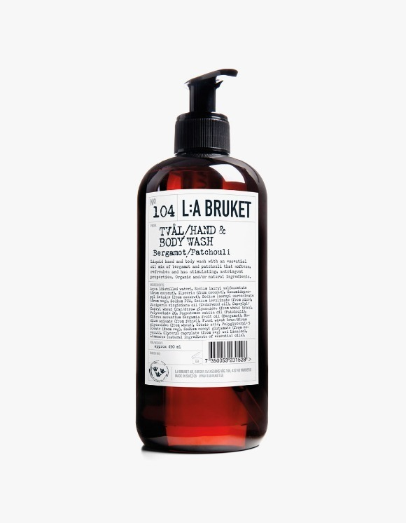 L:a Bruket Hand & Body Wash - Bergamot/Patchouli (450ml) | HEIGHTS. | 하이츠 온라인 스토어