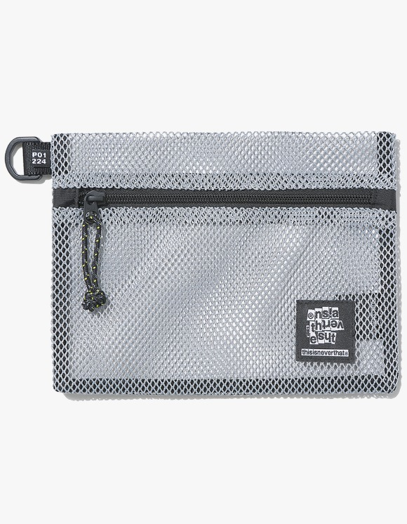 thisisneverthat Mesh Flat Pouch - Grey | HEIGHTS. | 하이츠 온라인 스토어