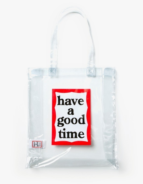 have a good time PVC Frame Tote - Clear | HEIGHTS. | 하이츠 온라인 스토어