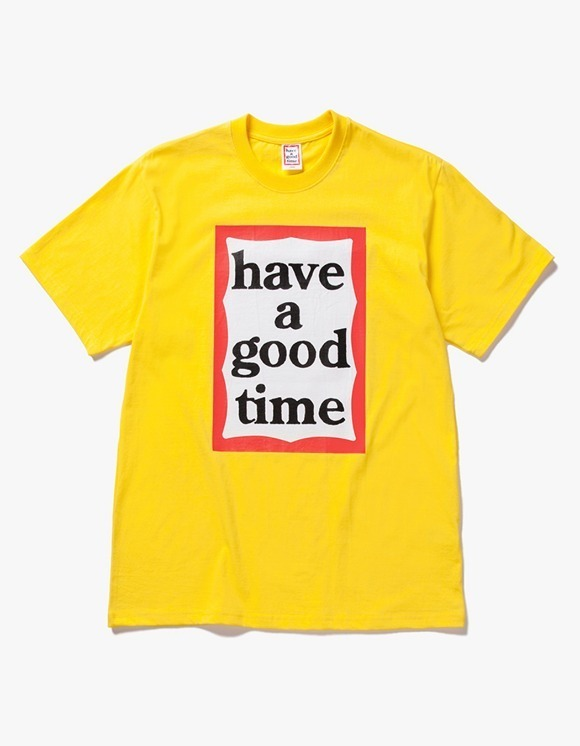 have a good time Big Frame S/S Tee - Lemon | HEIGHTS. | 하이츠 온라인 스토어