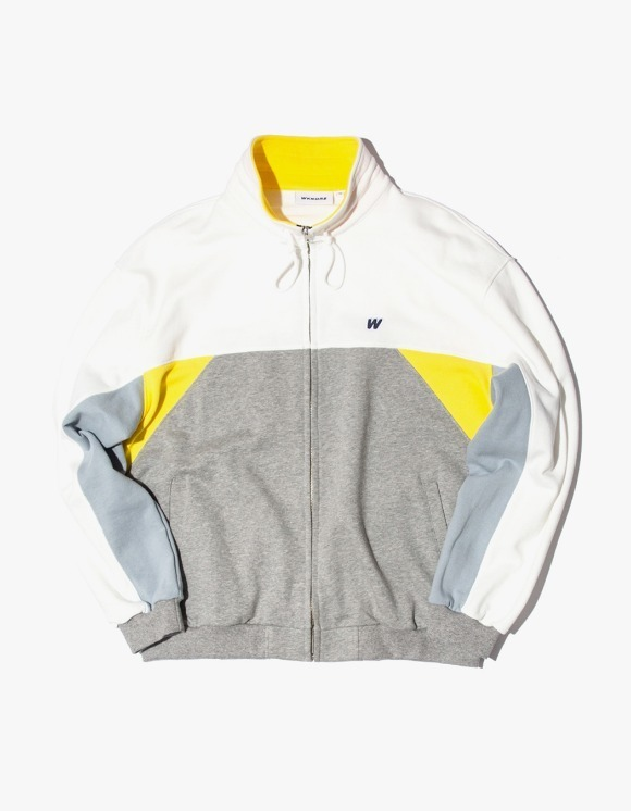 WKNDRS Cutted Track Jacket - Yellow | HEIGHTS. | 하이츠 온라인 스토어