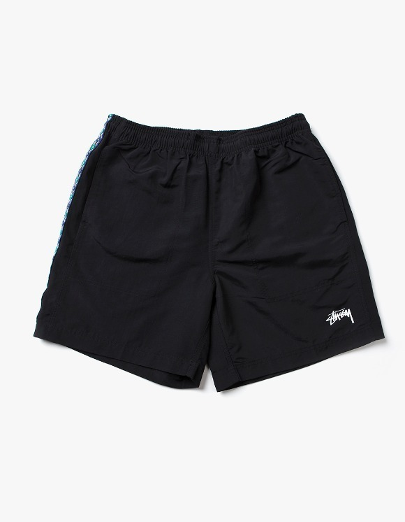 Stussy Taping Nylon Short - Black | HEIGHTS. | 하이츠 온라인 스토어