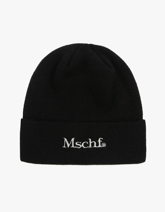 MISCHIEF Beanie - Black | HEIGHTS. | 하이츠 온라인 스토어