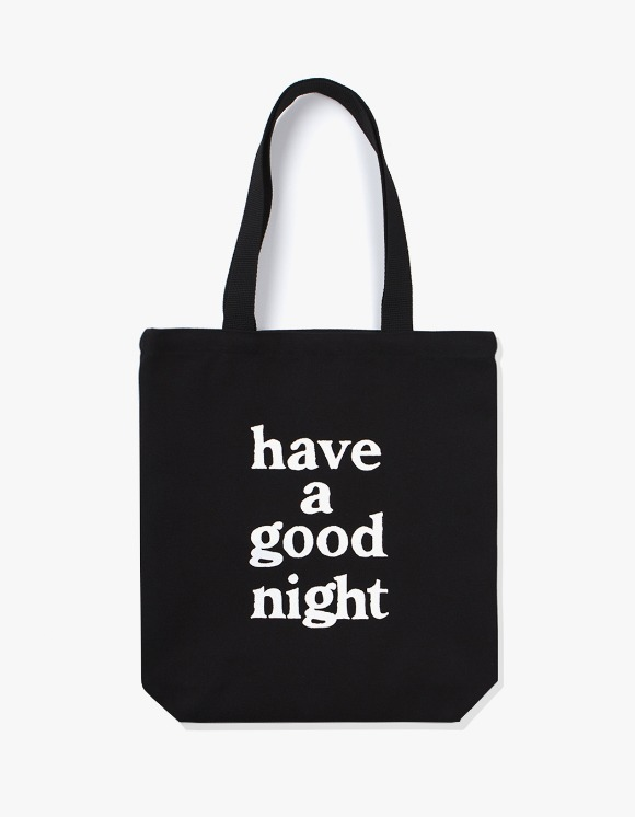 have a good time have a good night Tote Bag - Black | HEIGHTS. | 하이츠 온라인 스토어