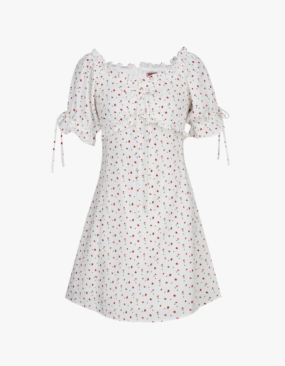 Margarin Fingers Strawberry One-Piece - White | HEIGHTS. | 하이츠 온라인 스토어