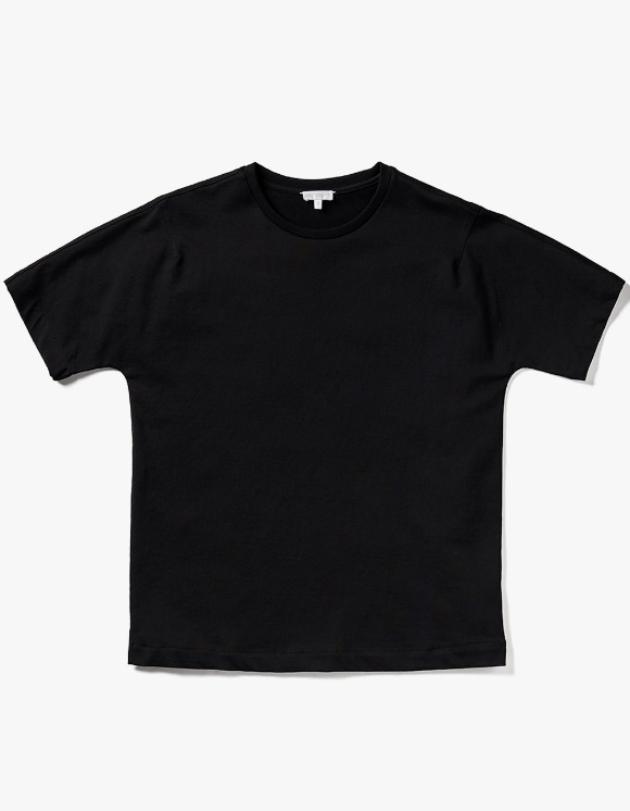 AECA WHITE Bill Half Sleeve Tee - Black | HEIGHTS. | 하이츠 온라인 스토어