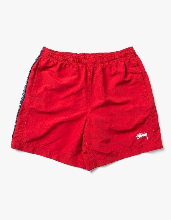 Stussy Taping Nylon Short - Red | HEIGHTS. | 하이츠 온라인 스토어