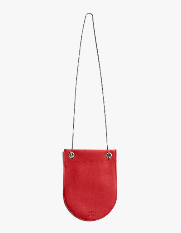 Margarin Fingers Round Compact Bag - Red | HEIGHTS. | 하이츠 온라인 스토어