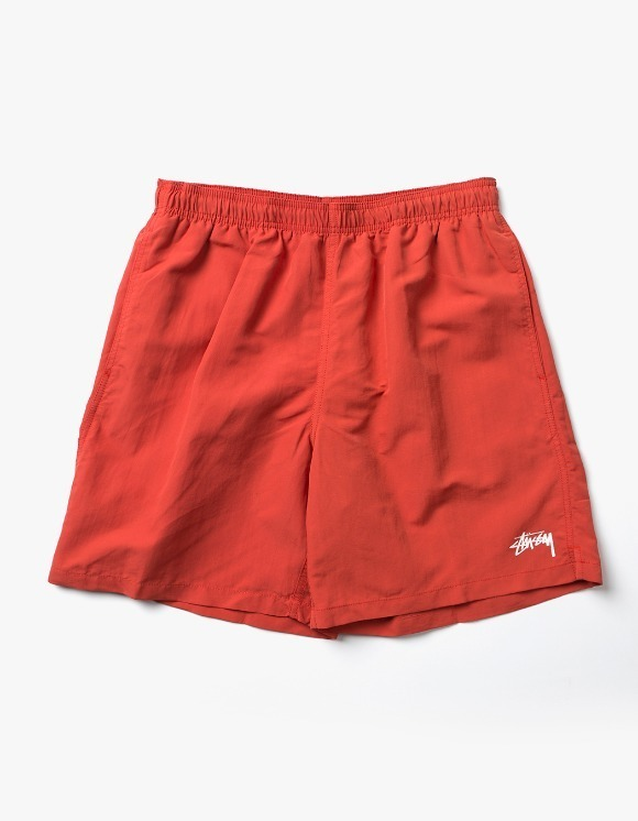 Stussy Stock Water Short - Red | HEIGHTS. | 하이츠 온라인 스토어