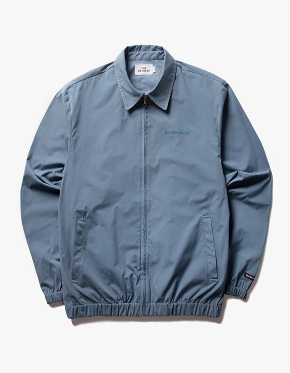 IZOLA NYC Coach ZIp Up Jacket - Blue | HEIGHTS. | 하이츠 온라인 스토어