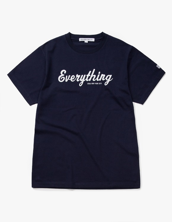 IZOLA NYC Everything S/S Tee - Navy | HEIGHTS. | 하이츠 온라인 스토어