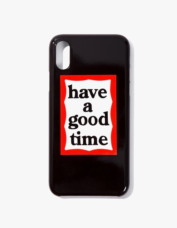 have a good time Frame iPhone Case X - Black | HEIGHTS. | 하이츠 온라인 스토어