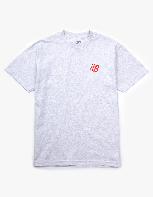 BRONZE56k B Logo S/S Tee - Ash | HEIGHTS. | 하이츠 온라인 스토어