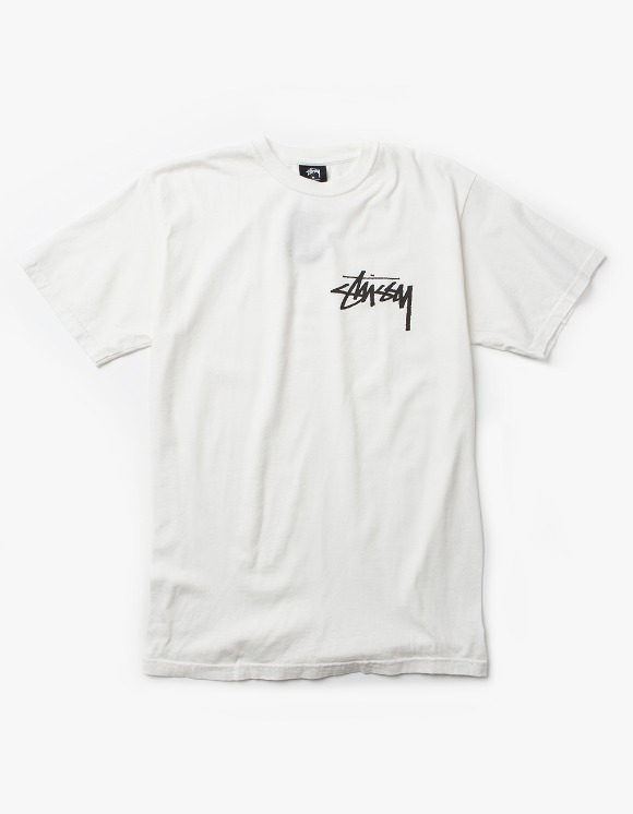 Stussy Stock Pig. Dyed Tee - Natural | HEIGHTS. | 하이츠 온라인 스토어