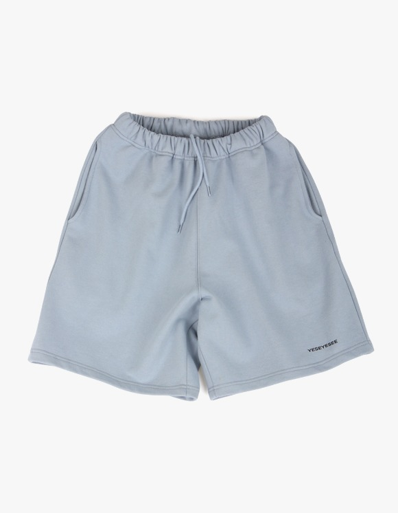 yeseyesee Y.E.S Sweat Shorts - Sky Blue | HEIGHTS. | 하이츠 온라인 스토어