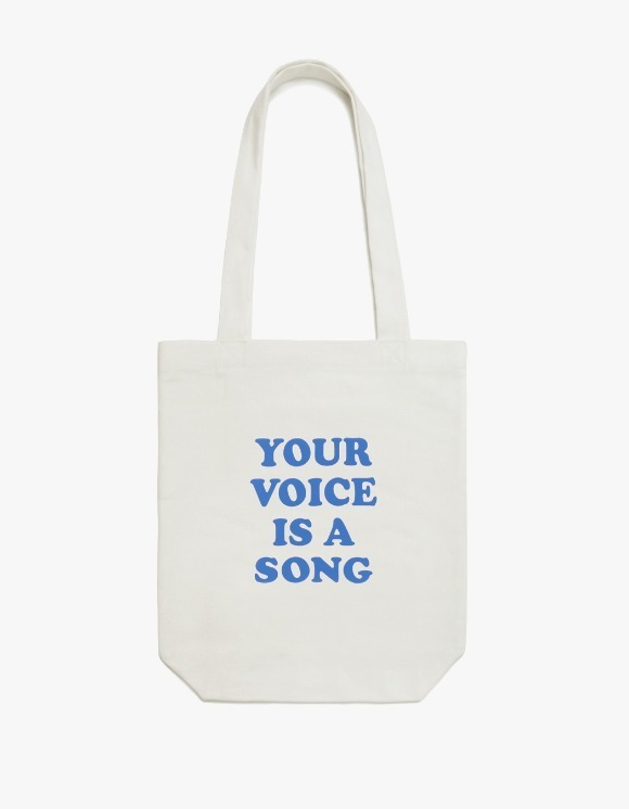 CLIF Your Voice Canvas Bag - Ivory | HEIGHTS. | 하이츠 온라인 스토어