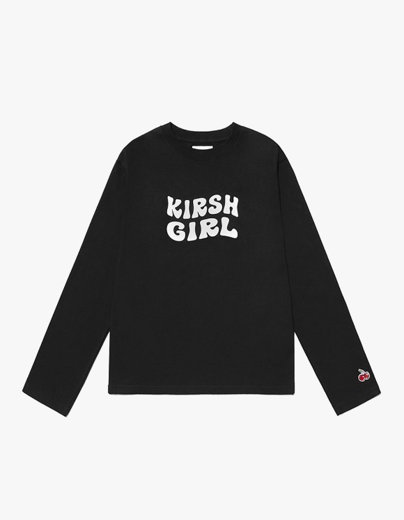 KIRSH KIRSH Girl Logo Tee IS - Black | HEIGHTS. | 하이츠 온라인 스토어