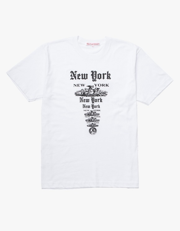 Richardson NY NY S/S T-shirts - White | HEIGHTS. | 하이츠 온라인 스토어