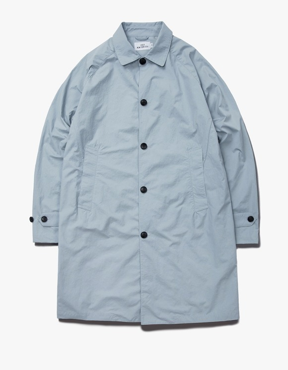 IZOLA NYC Nylon Single Coat - Grey | HEIGHTS. | 하이츠 온라인 스토어