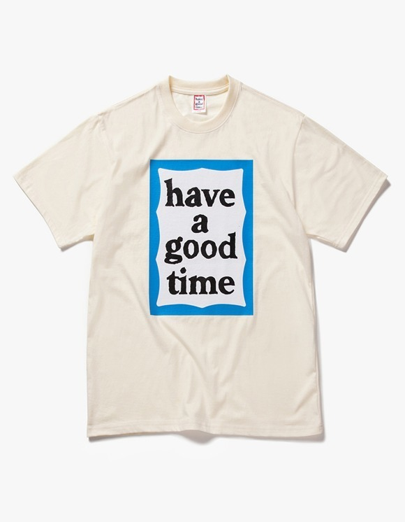 have a good time Big Blue Frame S/S Tee - Cream | HEIGHTS. | 하이츠 온라인 스토어