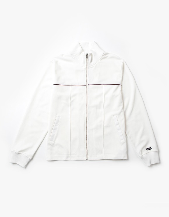 Stussy Poly Track Jacket - Bone | HEIGHTS. | 하이츠 온라인 스토어