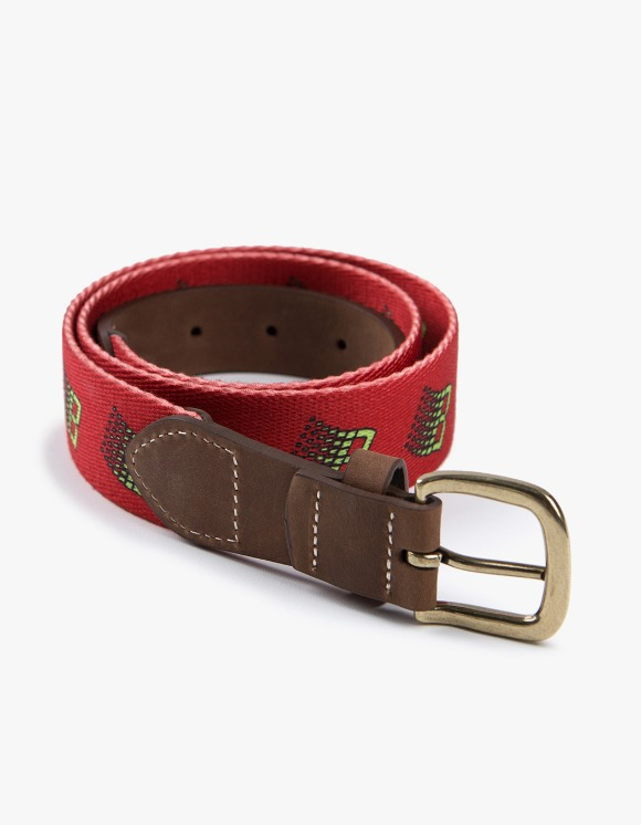 BRONZE56k B Logo Belt - Red | HEIGHTS. | 하이츠 온라인 스토어