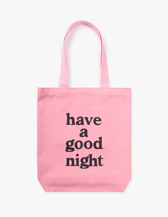 have a good time have a good night Tote Bag - Pink | HEIGHTS. | 하이츠 온라인 스토어