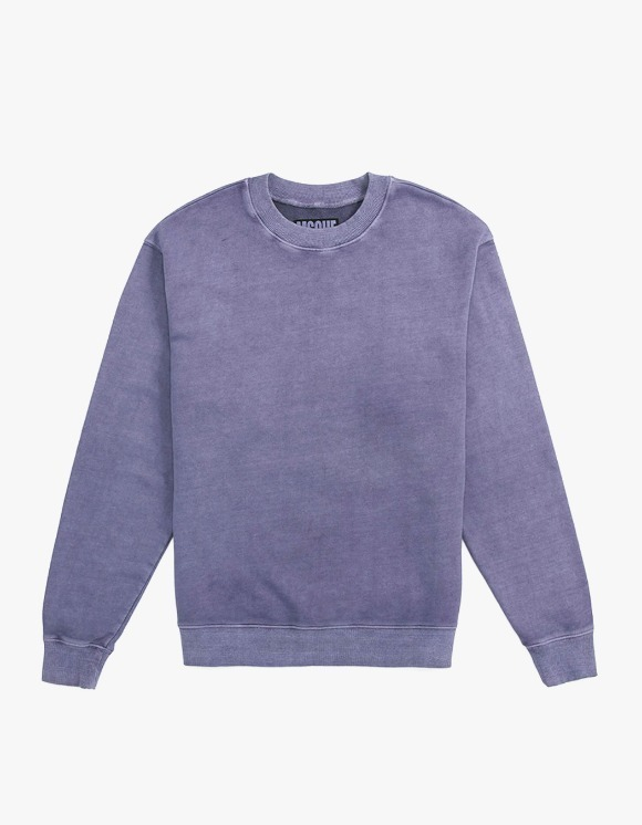 MISCHIEF Garment Dyed Crewneck - Purple | HEIGHTS. | 하이츠 온라인 스토어