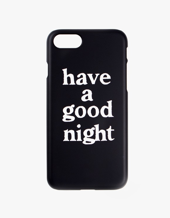 have a good time have a good night iPhone Case 6/7/8 - Black | HEIGHTS. | 하이츠 온라인 스토어
