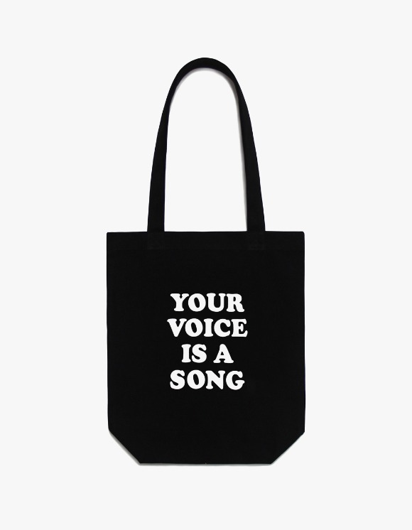 CLIF Your Voice Canvas Bag - Black | HEIGHTS. | 하이츠 온라인 스토어