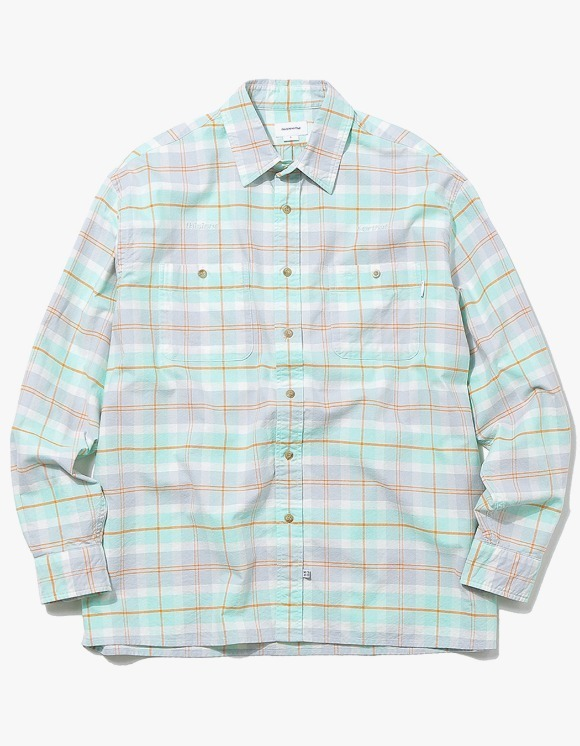 thisisneverthat HSP Check Shirt  - Mint | HEIGHTS. | 하이츠 온라인 스토어