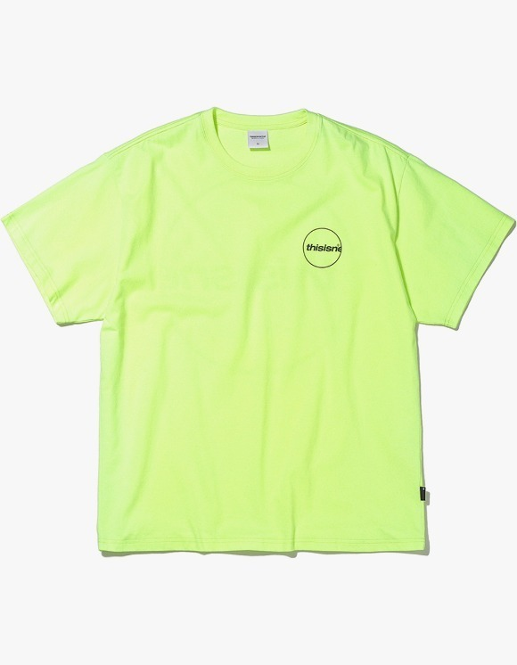 thisisneverthat C-Logo Tee - Neon Green | HEIGHTS. | 하이츠 온라인 스토어