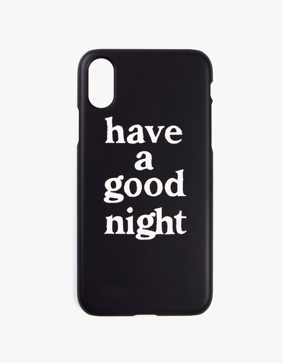 have a good time have a good night iPhone Case X - Black | HEIGHTS. | 하이츠 온라인 스토어