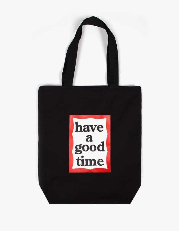have a good time Frame Tote Bag - Black | HEIGHTS. | 하이츠 온라인 스토어