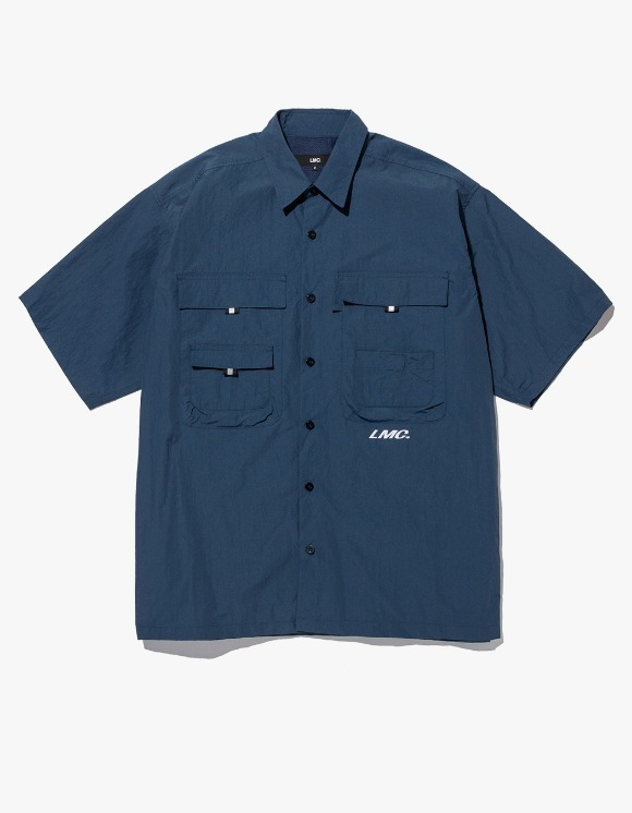 LMC LMC SHORT SLV FISHING SHIRT dk teal | HEIGHTS. | 하이츠 온라인 스토어