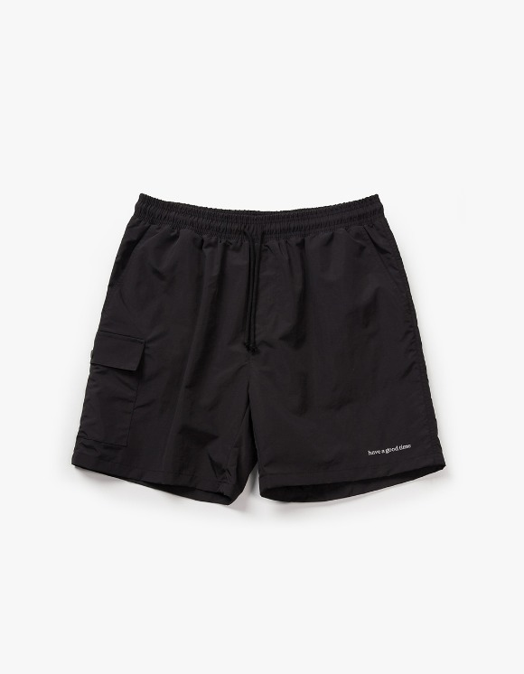 have a good time Aquallum Pocket Shorts - Black | HEIGHTS. | 하이츠 온라인 스토어