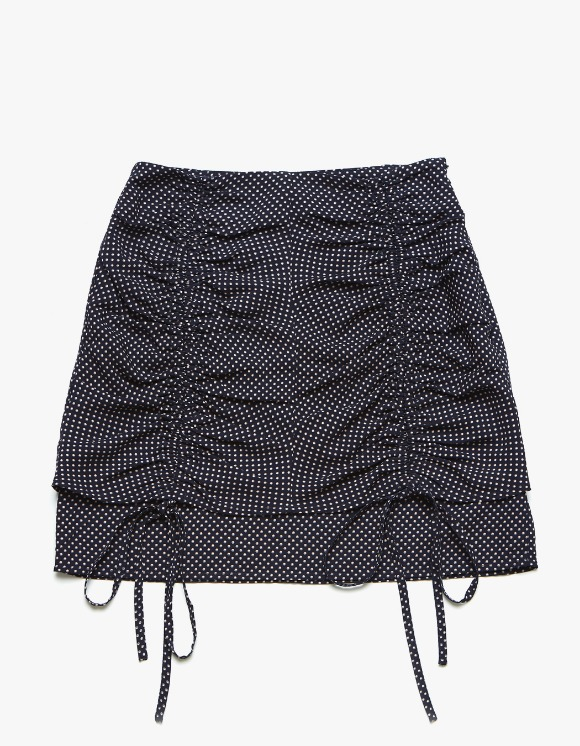 Margarin Fingers Double Shirring Skirt - Navy | HEIGHTS. | 하이츠 온라인 스토어