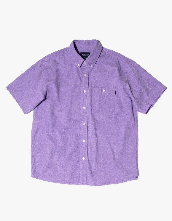 WKNDRS Basic Shorts Sleeve Shirts - Purple | HEIGHTS. | 하이츠 온라인 스토어