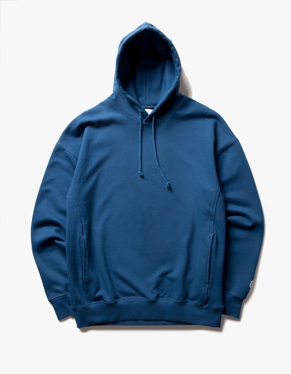 IZOLA NYC WarmUp Hoodie - Deep Blue | HEIGHTS. | 하이츠 온라인 스토어