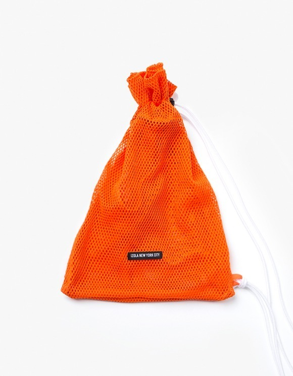 IZOLA NYC Mesh Knapsack - Orange | HEIGHTS. | 하이츠 온라인 스토어