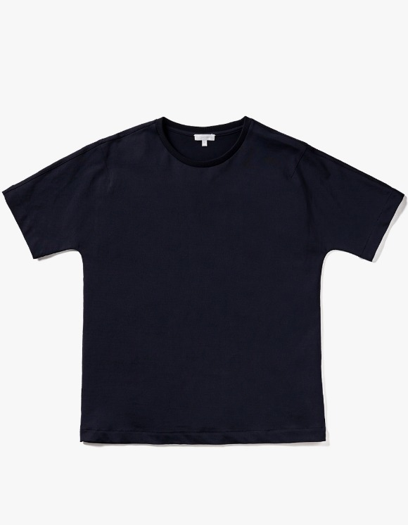 AECA WHITE Bill Half Sleeve Tee - Deep Navy | HEIGHTS. | 하이츠 온라인 스토어
